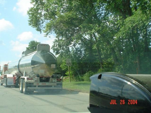 hazmat hazard truck